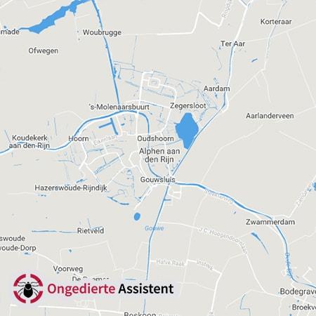 ongediertebestrijding Aphen aan den Rijn