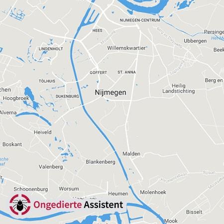 ongediertebestrijding Nijmegen